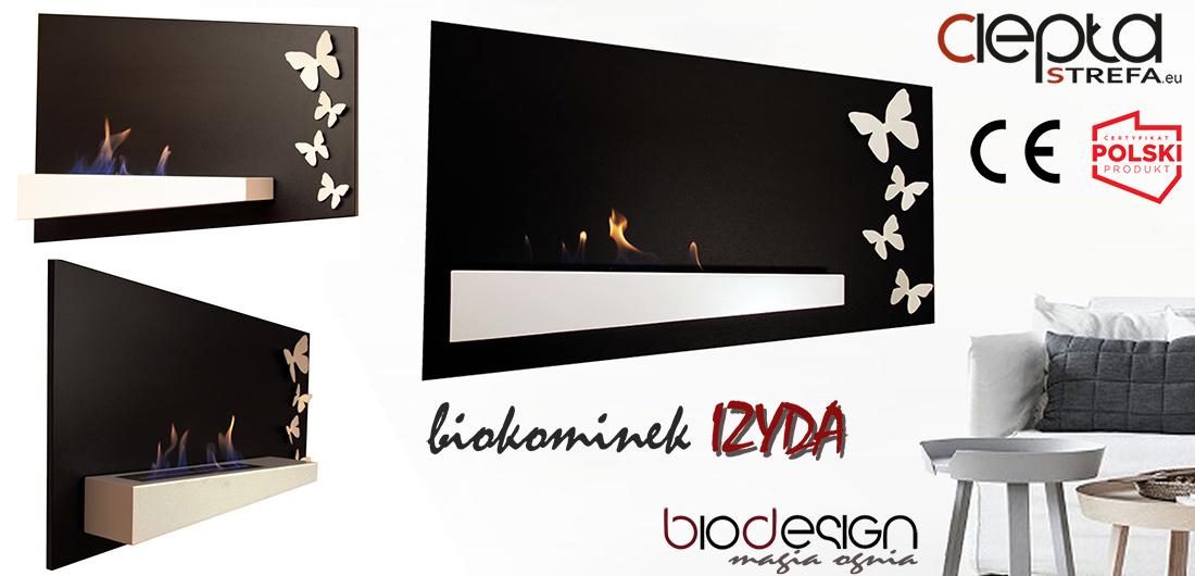 biokominek IZYDA BioDesign