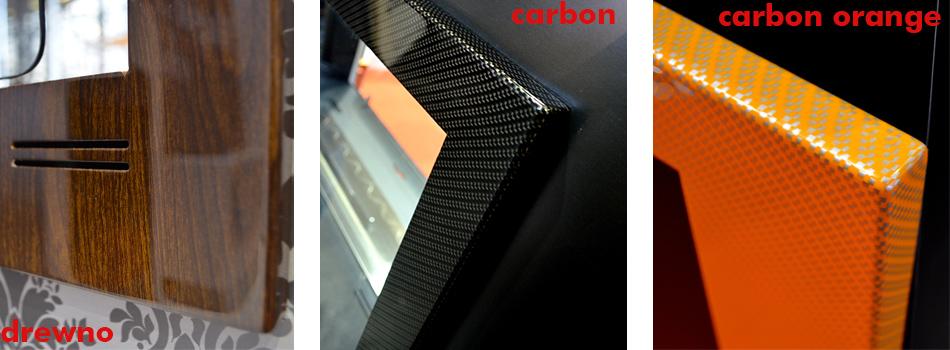 zmiana koloru biokominka