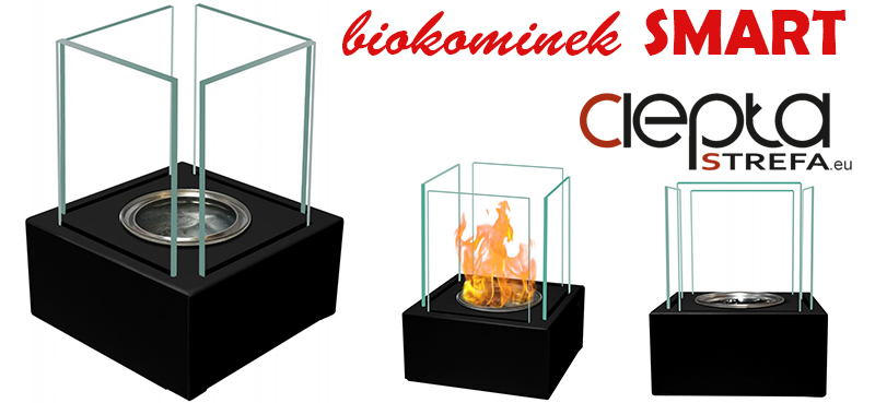 biokominki - biokominek CZARNY