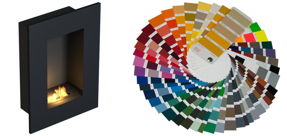 biokominek TOLEDO kolor
