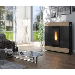 Piecyk na pelet Gardenia Air 8,0 kW - Red