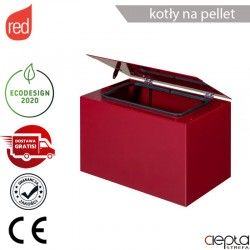 Nadstawka zbiornika na pellet Red Selecta 15/20/25