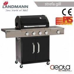 Landmann grill gazowa TRITON 4.1 PTS czarny (12962)
