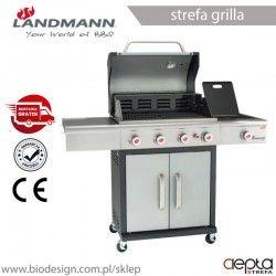 Landmann grill gazowy TRITON 3.1 PTS INOX (12945)