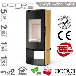 piecyk Defro ORBIS LOG - 9 kW - złoty