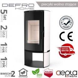 piecyk Defro ORBIS LOG - 9 kW - biały