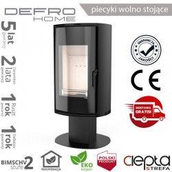 piecyk Defro ORBIS TOP- 9 kW - czarny