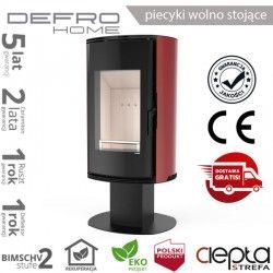 piecyk Defro ORBIS TOP- 9 kW - czerwony