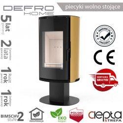 piecyk Defro ORBIS TOP- 9 kW - złoty