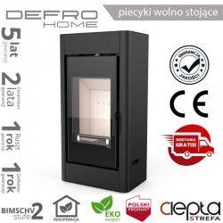 piecyk Defro SOLUM- 9 kW - czarny