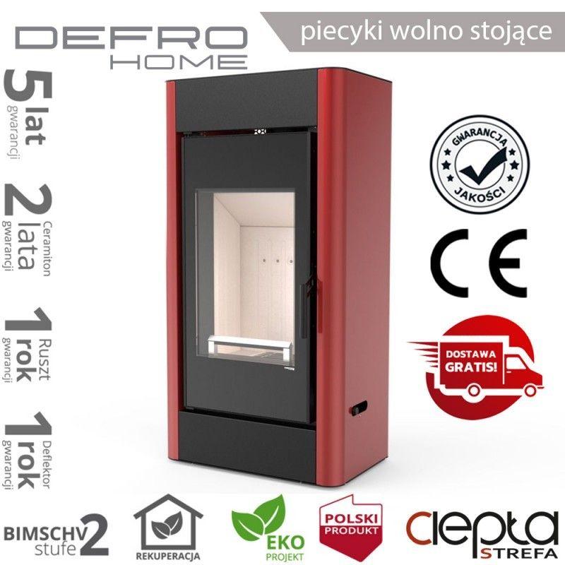 piecyk Defro SOLUM- 9 kW - czerwony