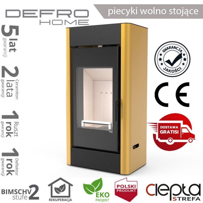 piecyk Defro SOLUM- 9 kW - złoty