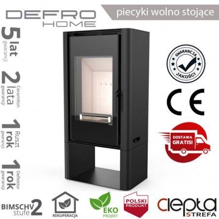 piecyk Defro SOLUM LOG - 9 kW - czarny