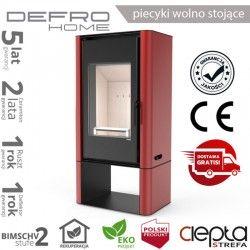 piecyk Defro SOLUM LOG - 9 kW - czerwony