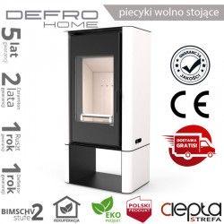piecyk Defro SOLUM LOG - 9 kW - biały