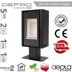 piecyk Defro SOLUM TOP - 9 kW - czarny