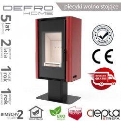 piecyk Defro SOLUM TOP - 9 kW - czerwony