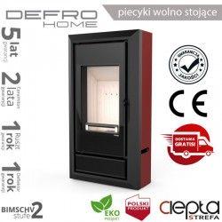 piecyk Defro IGNIS - 9 kW - czerwony