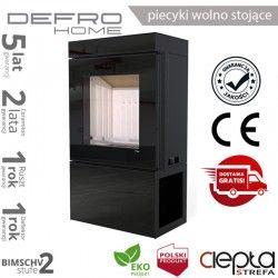 piecyk Defro CUBE - 10 kW - czarny