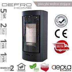piecyk Defro ORTI - 9 kW - czarny
