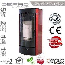 piecyk Defro ORTI - 9 kW - czerwony