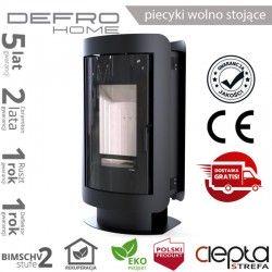 piecyk Defro OVAL - 9 kW - czarny