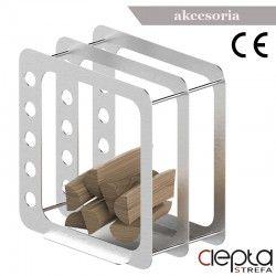 Stojak na drewno K3 inox
