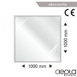 Podstawa szklana kwadratowa 1000x1000x6mm