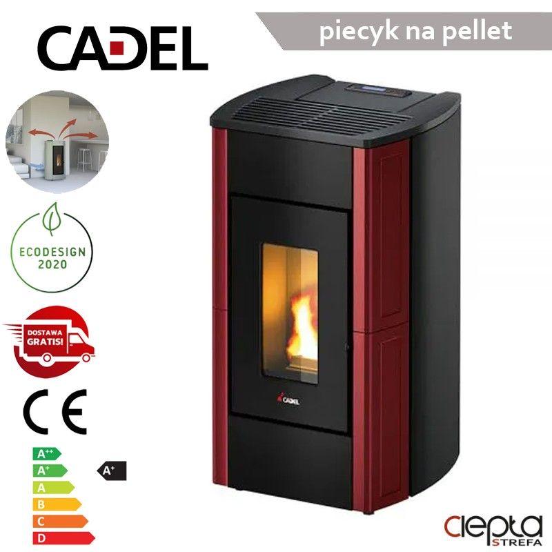 Perla3 7,0 kW  bordowy kafel – Cadel