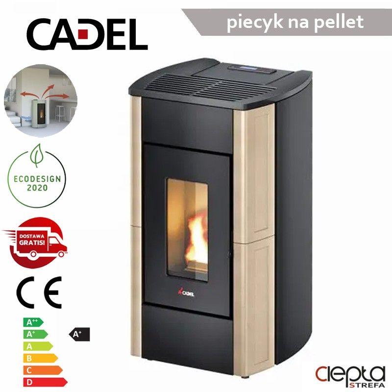 Perla3 7,0 kW  kość słoniowa kafel – Cadel