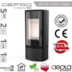 piecyk Defro ORBIS - 9 kW - czarny