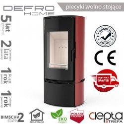 piecyk Defro ORBIS - 9 kW - czerwony