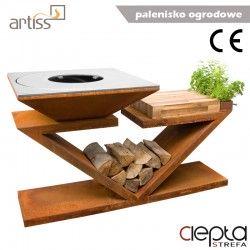 Palenisko-grill ogrodowy Artiss G5 corten ref. 2605-05