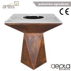 Palenisko-grill ogrodowy Artiss G1 corten ref. 2605-01