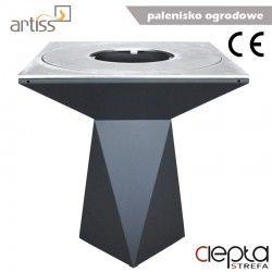 Palenisko-grill ogrodowy Artiss G1 grafit ref. 2605-11