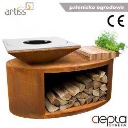 Palenisko-grill ogrodowy Artiss G3 corten ref. 2605-03