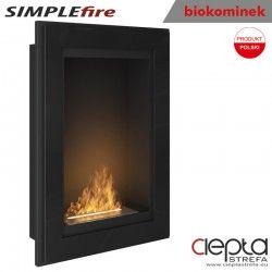 biokominek SIMPLEfire FRAME 550 czarny