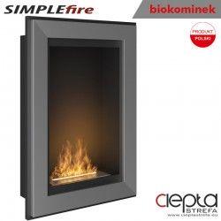 biokominek SIMPLEfire FRAME 550 inox