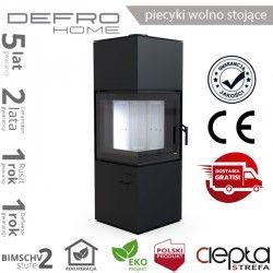 Defro QUADROOM - 9,6 kW - czarny
