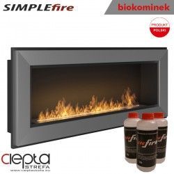 biokominek SIMPLEfire FRAME 900 inox
