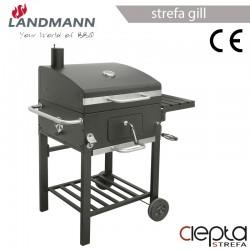 grill wózek KOMFORT BASIC z kominek - Landmann 11503