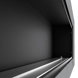 kratka 17x17 z żaluzją antyczna miedź