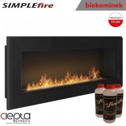 biokominek SIMPLEfire FRAME 1200 czarny