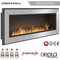 biokominek SIMPLEfire FRAME 1200 inox