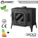Kompakt W17 EKO 17 kW GLASS - Kawmet -  kominki sklep