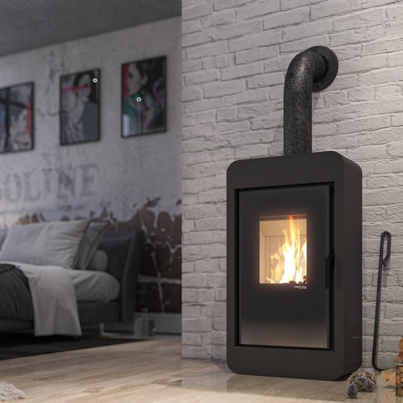 Piecyk na drewno Toledo Steel czarny - Thorma