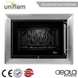 Rama dekoracyjna inox do wkładu UNIFLAM 720 PRESTIGE ref. R-UNIP720-I